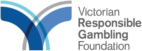 Victorian resonsible gambling foundation logo