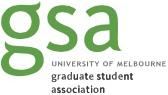 University of Melbourne Graduate Student Association logo