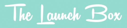 The launch box logo
